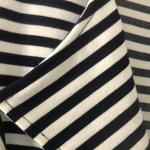 City Chic Jackets & Coats - City Chic black and white stripes